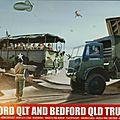 Bedford qlt et bedford qld (airfix 1/76eme)