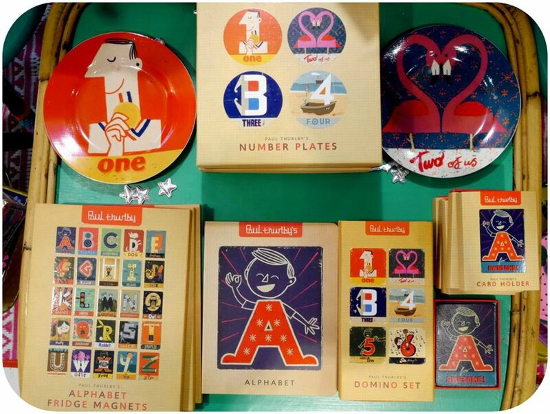 assiettes Paul Thurlby