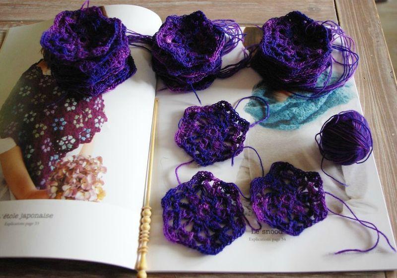 hexagone crochet
