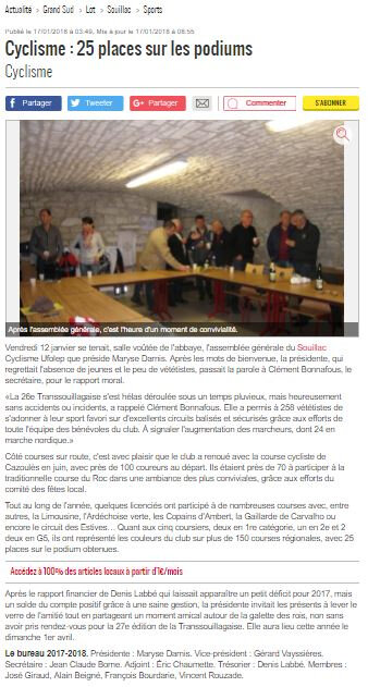 article AG la Depeche