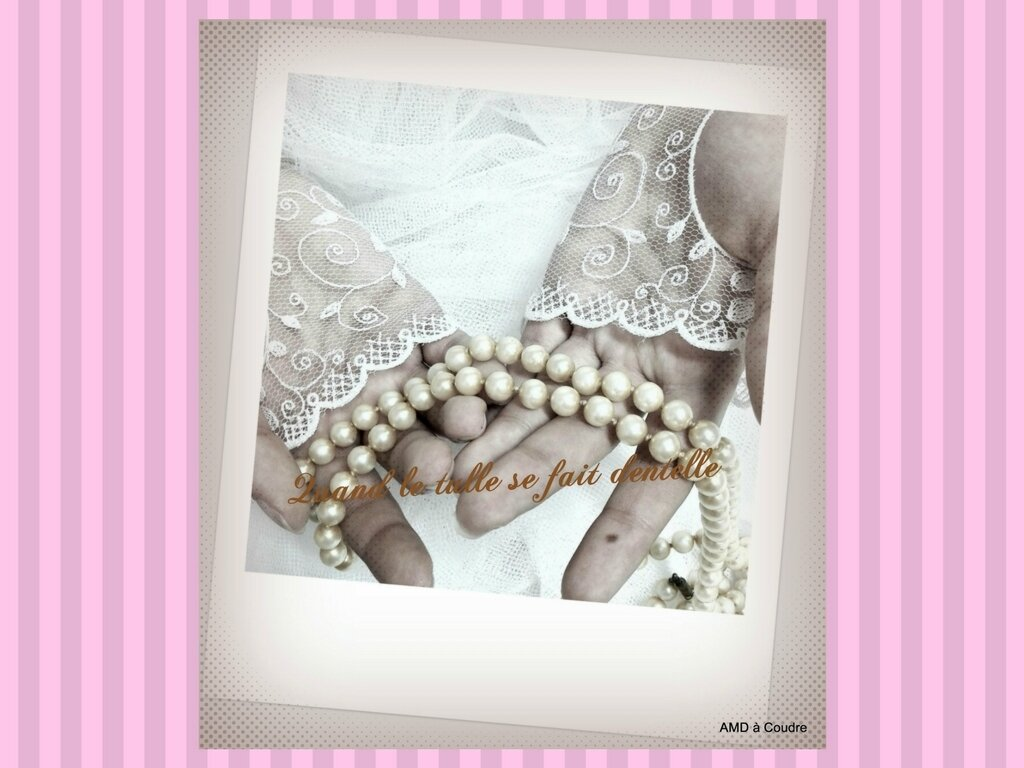 MARIAGE WEDDING ACCESSOIRES BRODERIE DENTELLE AMD A COUDRE (15)