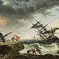 Masterworks by claude vernet owned by survivor of the french revolution for sale at bonhams