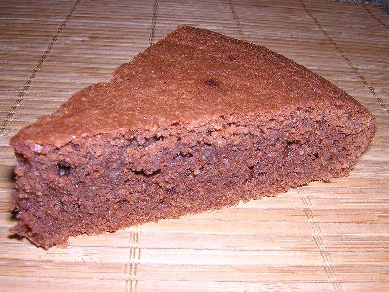 Gâteau financier au chocolat