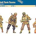 British paratroopers anti-tank team / ialeri 1/72eme