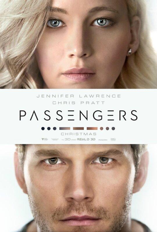Passengers movie_Jennifer Lawrence_Chris Pratt