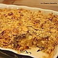 Crumble gourmand