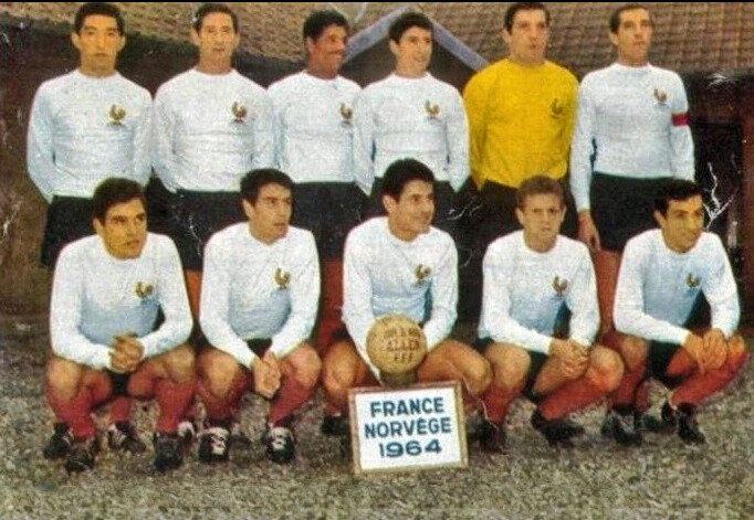 1964 11 11a Equipe France Norvège