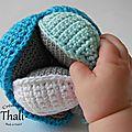 Balle puzzle au crochet