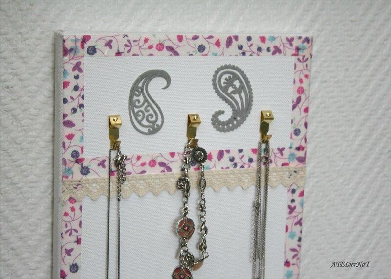 Porte-bijoux de mon livre