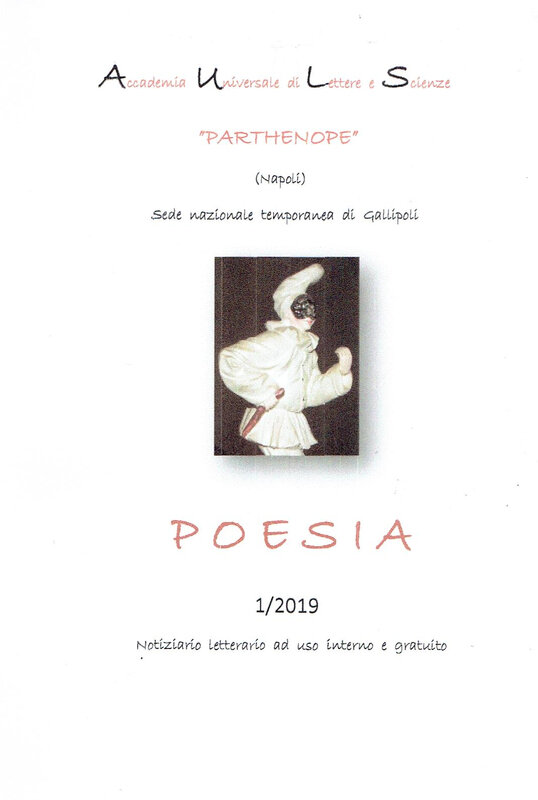 PARTHENOPE POESIA n° 1 2019 couverture