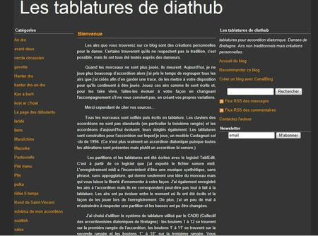 blog tablatures