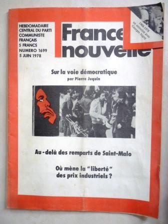 France Nouvelle 5 juin 1978