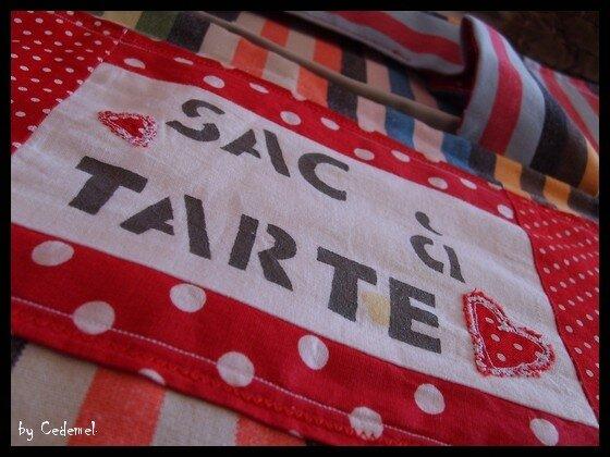 SAC A TARTES RAYE 11