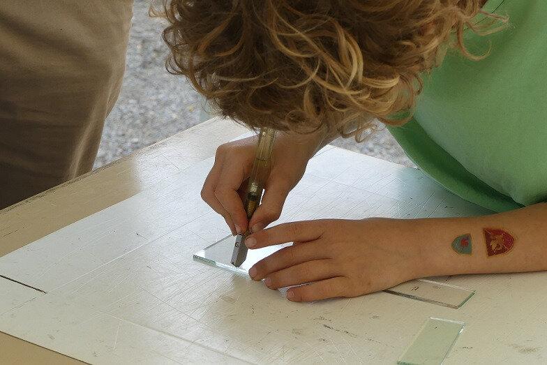 Atelier enfants vitrail - Clotilde Gontel