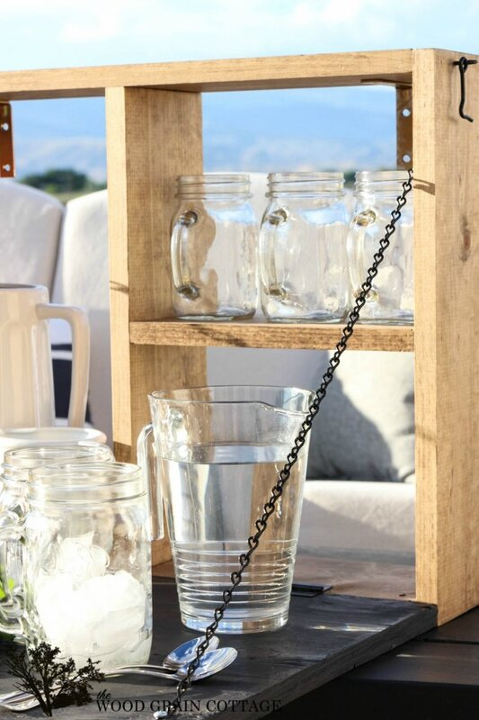 Make-your-own-outdoor-serving-station