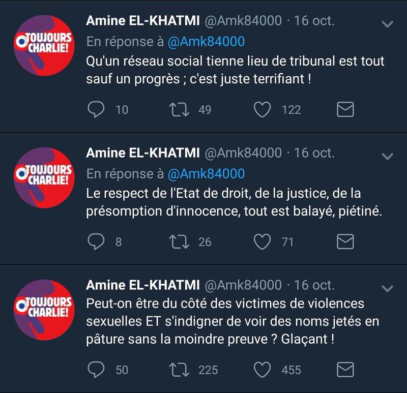AmineElKhatmiPresomptionDinnocenceViols
