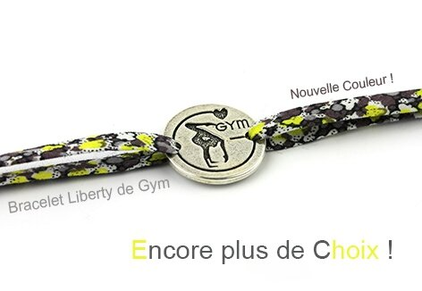 Slider Bracelet Gym Liberty Gris