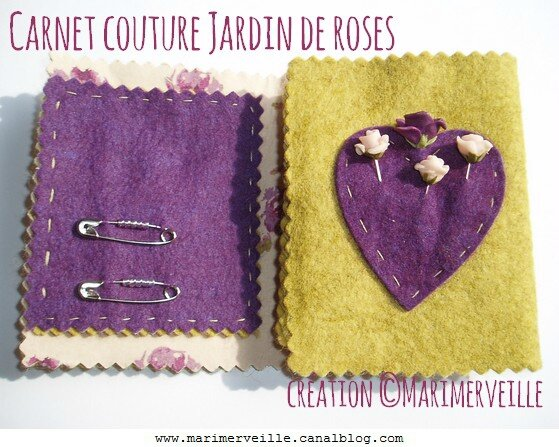 carnet couture jardin aux roses 2 création marimerveille