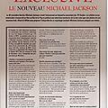 Interview exclusive le nouveau michael jackson (tv guide du 30 novembre 1999) - black & white n°31, janvier 2000