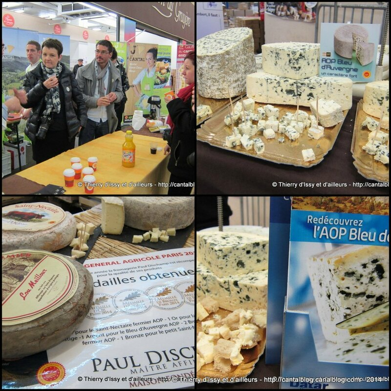 AOP FROMAGES AUVERGNE 2014