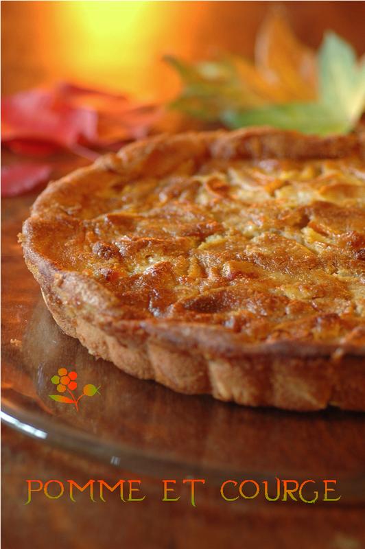 Gâteau de la teinturière pomme & courge_1