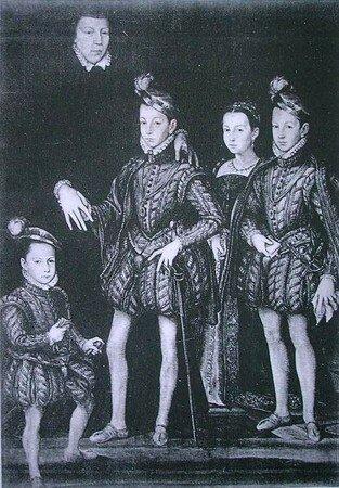 Portrait de la famille royale