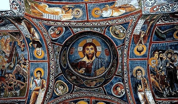 cappadoce goreme karanlik_kilise 89616