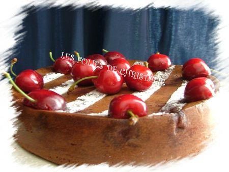Moelleux chocolat cerises 12