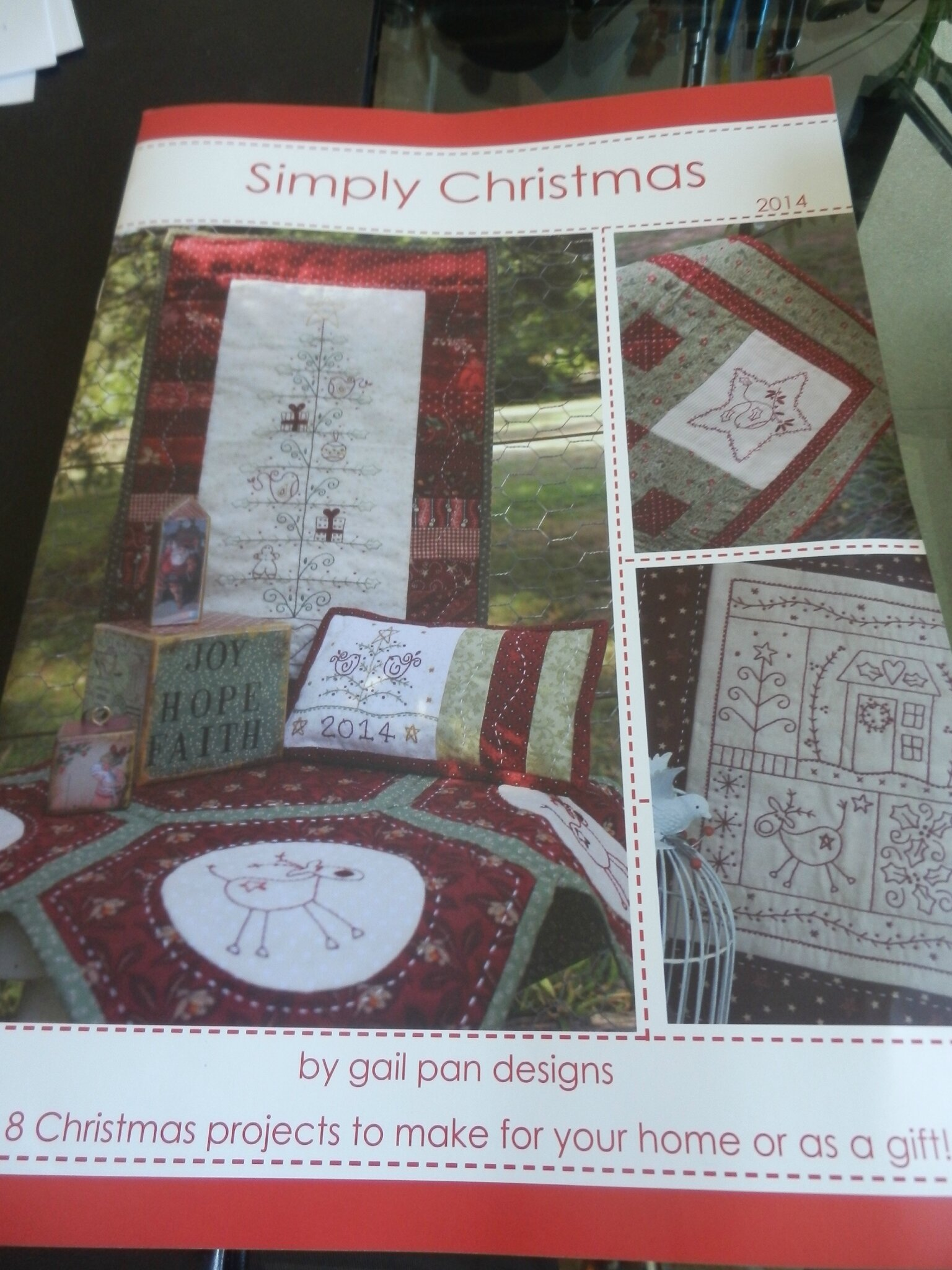 SIMPLY CHRISTMAS by Gail Pan