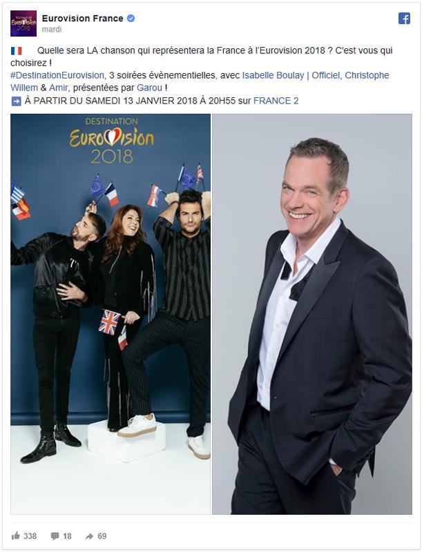 FR Destination Eurovision - annonce date début
