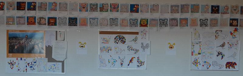 Mur Mondrian