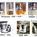 Evolution du thermomix