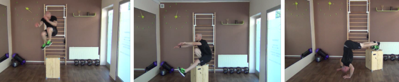 Box jump exercices