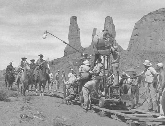 John Ford at Monument Valley