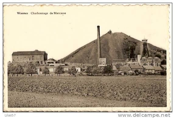 Marcasse - ancienne carte