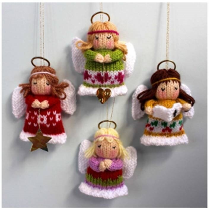 image christmas angels dollytime