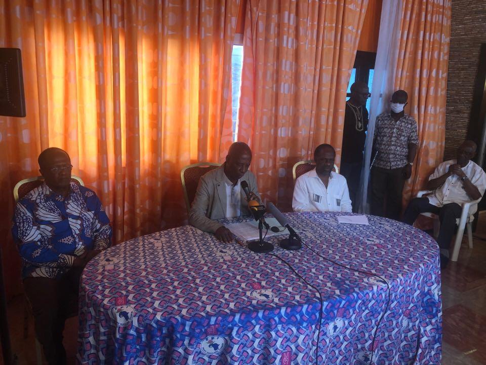 Pour le FPI, l'heure est au rassemblement autour de la lutte contre le coronavirus et non à des actes de division.
