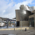 Bilbao, musée Guggenheim et Grand arbre et l'oeil