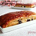 Brioche suisse de christophe felder à la crème pâtissière et aux pépites de chocolat
