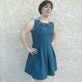 Celle qui s'est (enfin!!!) fait une robe ;-)