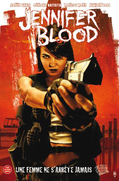 panini jennifer blood 01 une femme ne s'arrête jamais