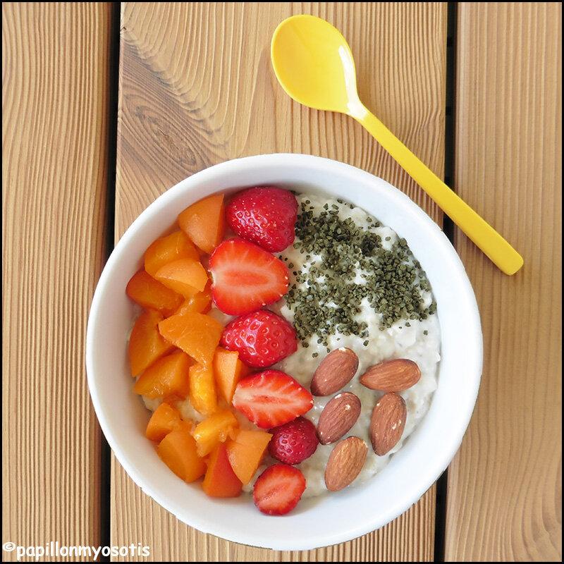 Poridge aux fruits frais