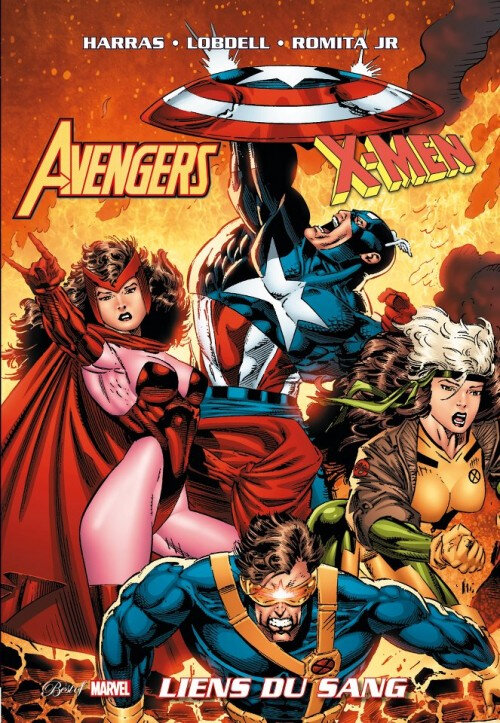 best of marvel avengers x-men liens du sang