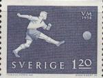 1958 Timbres Suède 120