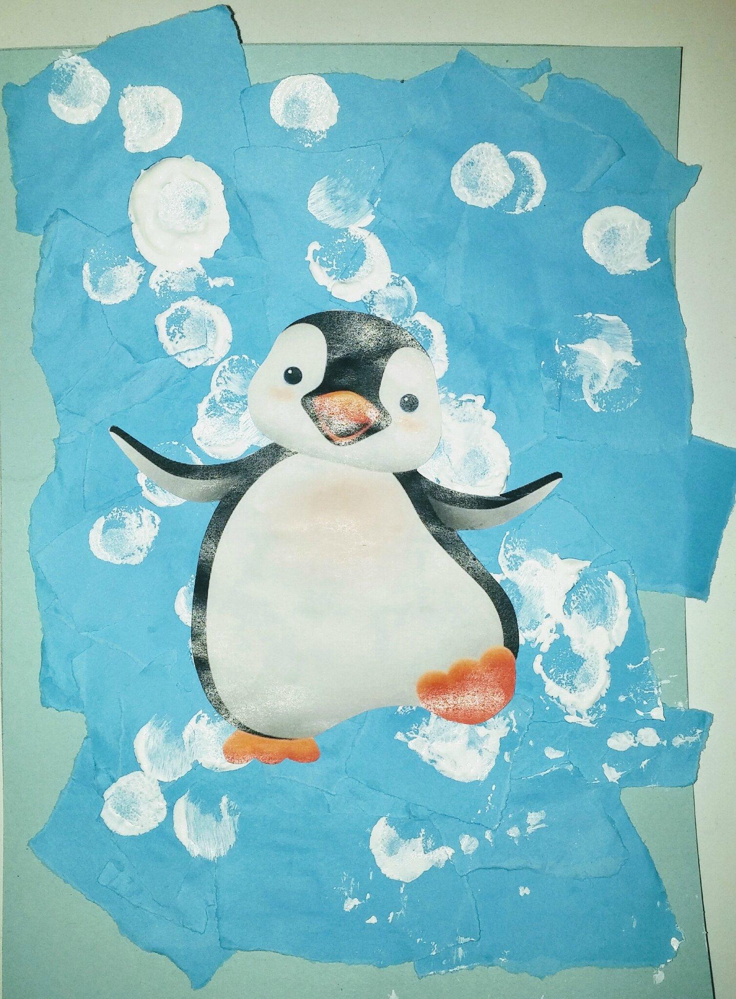 Il fait froid... Chez les Pingouins