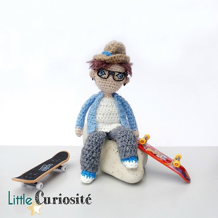 Amigurumidoll 2017 - My Son - Handmade with Love - ©Little Curiosité (2)