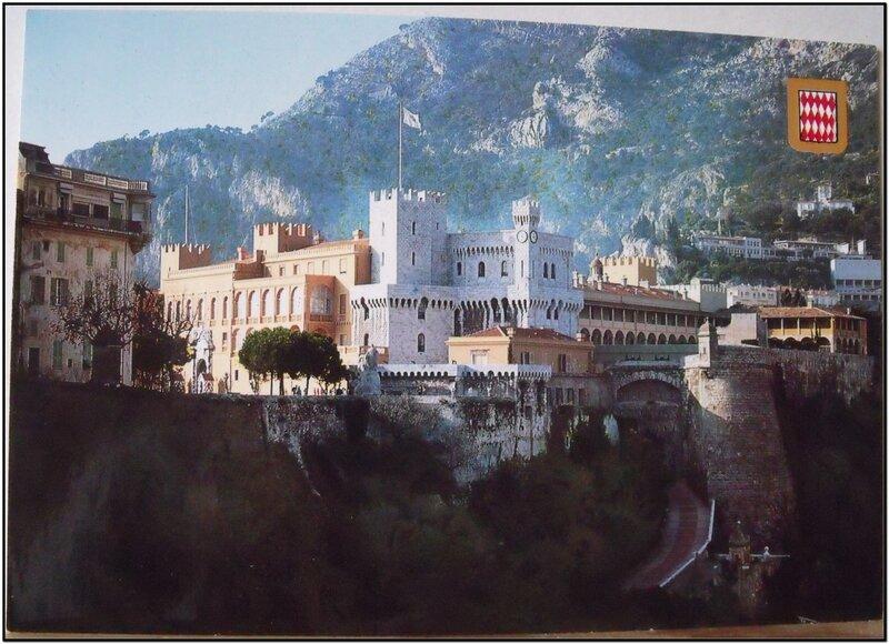 Monaco - Palis princier - datée 2000