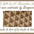 Défi 309 du 21 novembre 2016 - carte de créacam