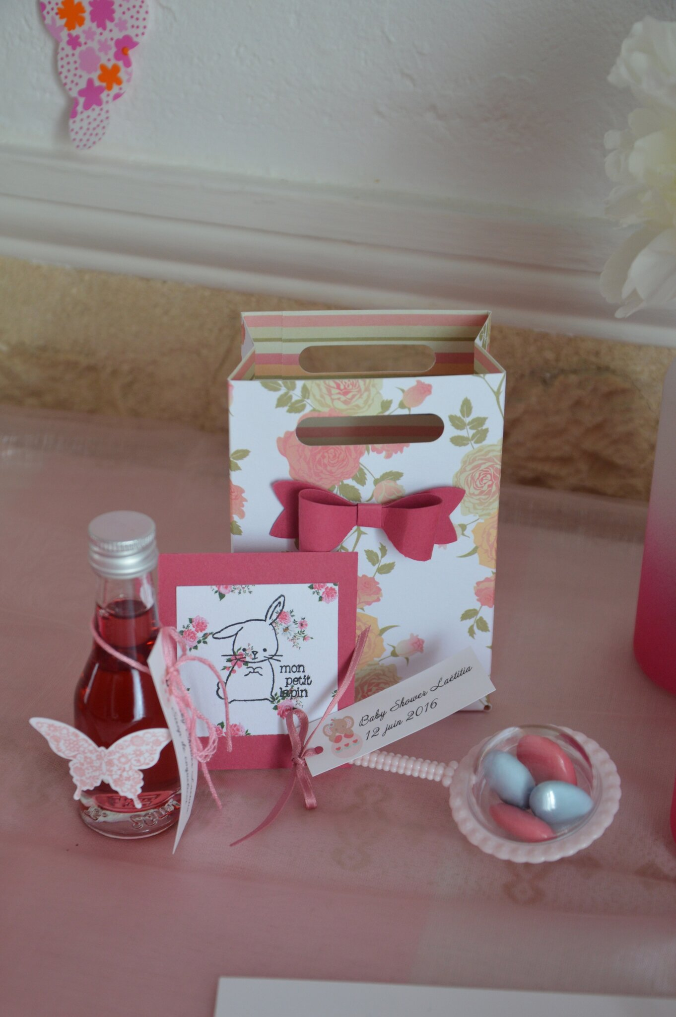 cadeaux invit s baby shower cr as rougeberry chez stampin 39 up. Black Bedroom Furniture Sets. Home Design Ideas
