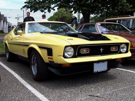 FORD Mustang Mach 1 Fastback Coupe 1971 Fun Car Show Illzach 2009 1